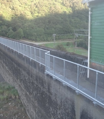 Hand Railing at Mangahao Power Station