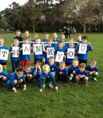 Ashhurst Pohangina Football Club First Kicks Soccer
