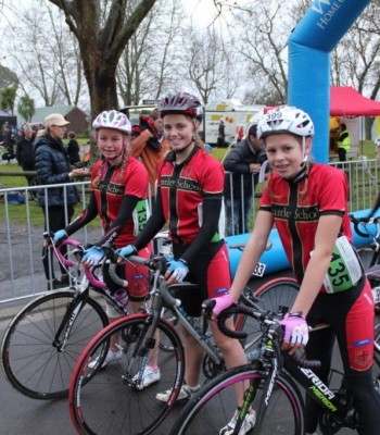 Huntley School Cycling Team